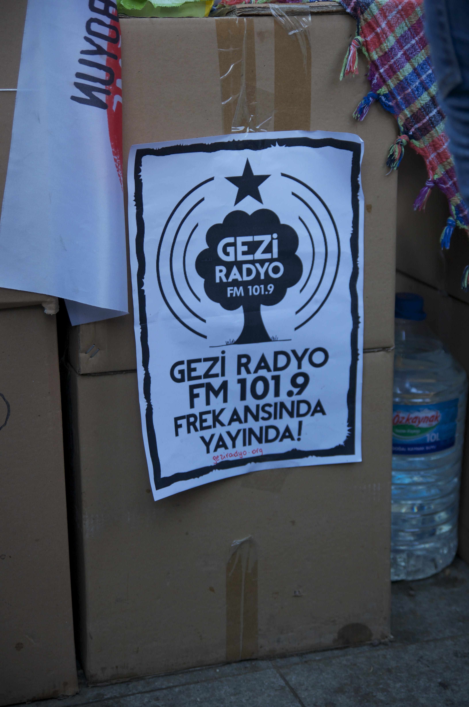Gezi Park Radio.